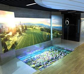 河南漯河经开区规划展厅