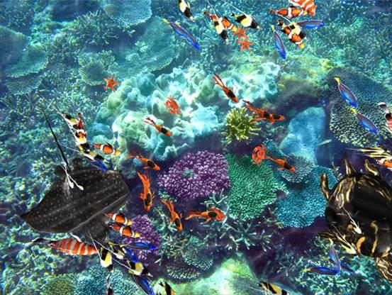 高清海洋地面互动系统2