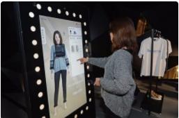 虚拟换衣让您更优雅的逛街